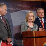 Schumer,_Gillibrand_and_Menendez New York Jobs Public Domain Image